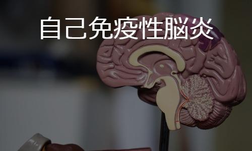 自己免疫性脳炎 autoimmune encephalitis