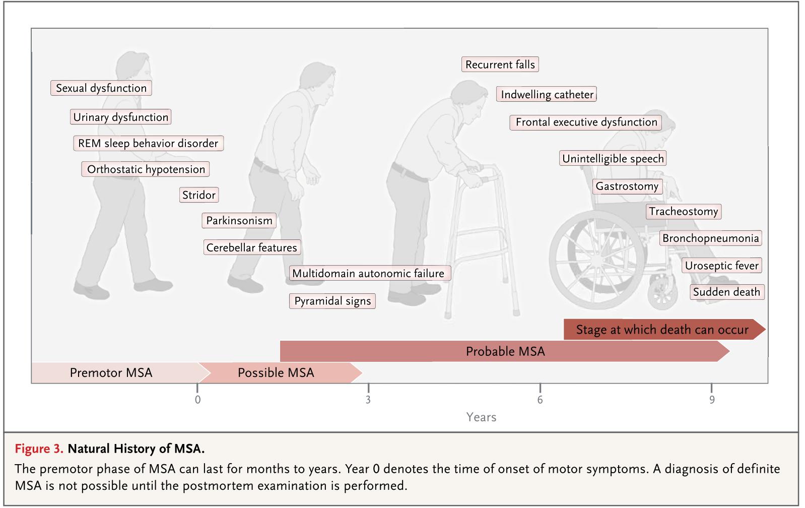 多系統萎縮症 MSA: multiple system atrophy