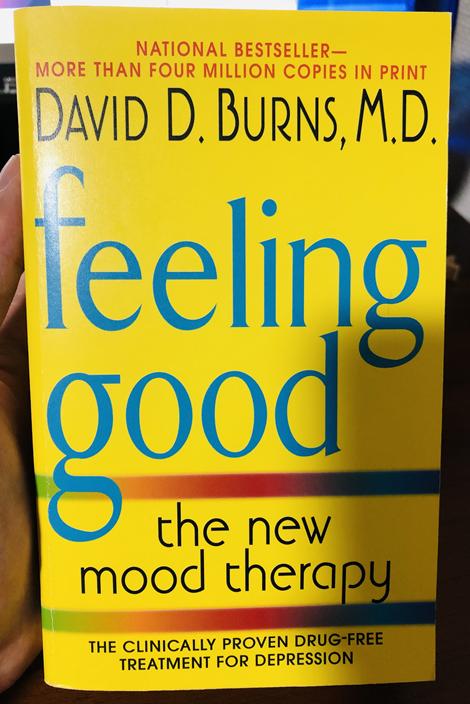 """「いやな気分よ、さようなら」 """"Feeling Good"""" 著:David D. Burns"""