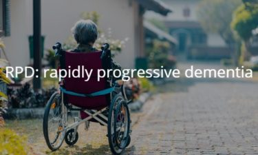 RPD: rapidly progressive dementia 急性進行性認知症
